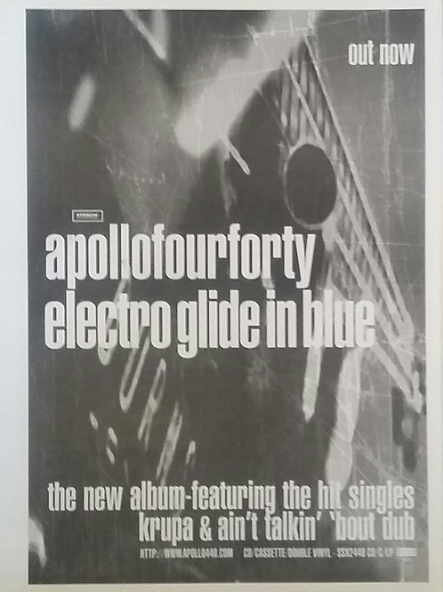 Apollo Four Forty ‎– Electro Glide In Blue