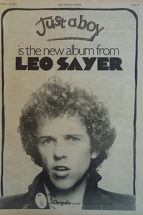 Leo Sayer - Just A Boy