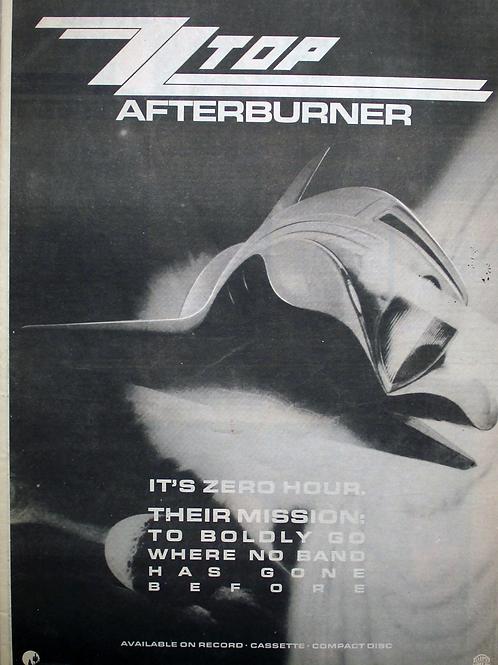 ZZTOP - Afterburner