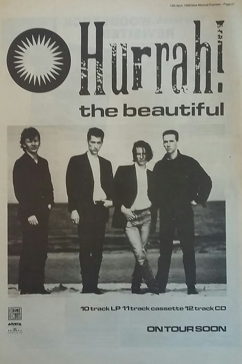 Hurrah! ‎– The Beautiful
