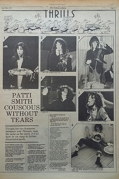 Patti Smith - Articles