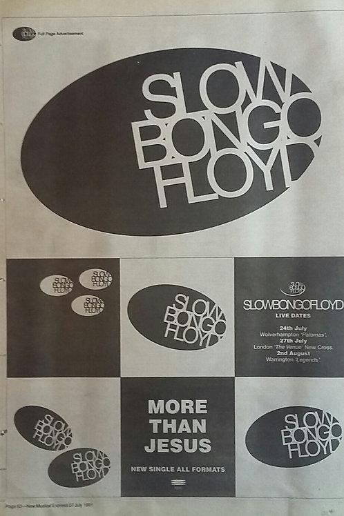 Slow Bongo Floyd – More Than Jesus