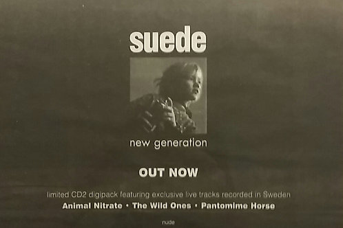 Suede ‎– New Generation