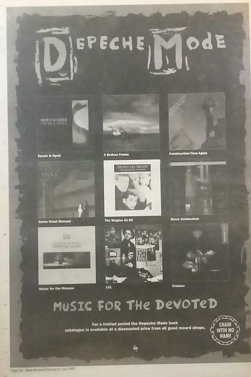 Depeche Mode - Music For Devoted