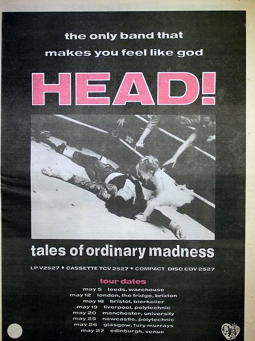 Head! - Tales Of Ordinary madness