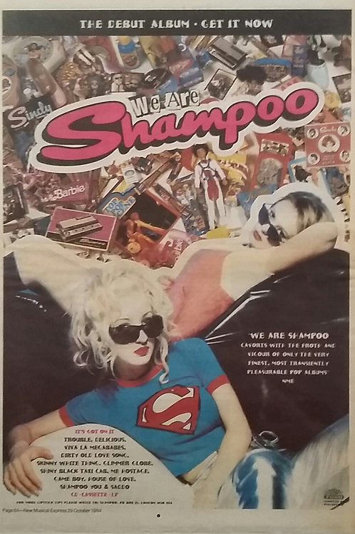 Shampoo ‎– We Are Shampoo