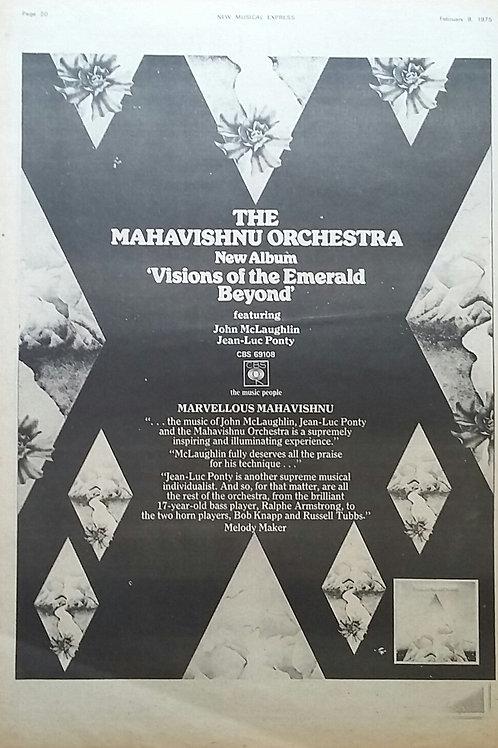 Mahavishnu Orchestra – Visions Of The Emerald Beyond