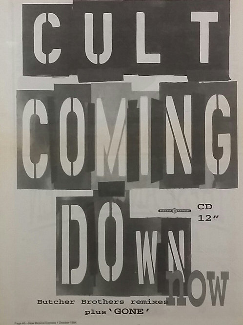The Cult ‎– Coming Down