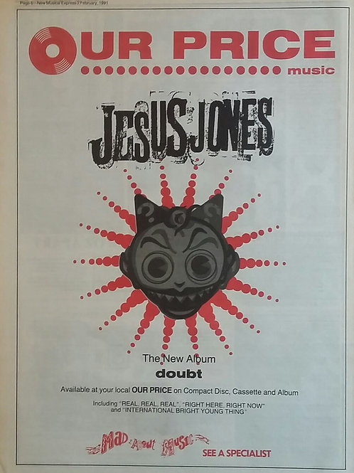 Jesus Jones - Doubt