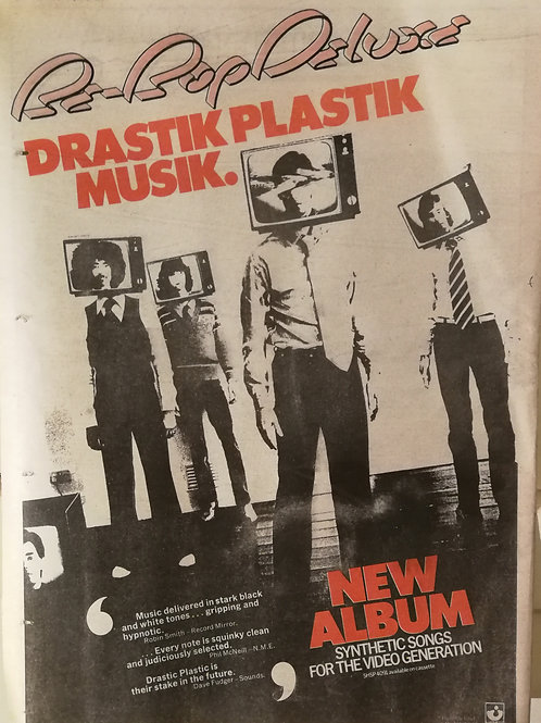 Be Bop Deluxe – Drastic Plastic