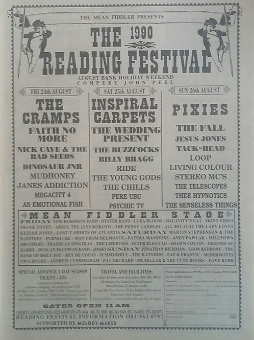 The 1990 Reading Festival