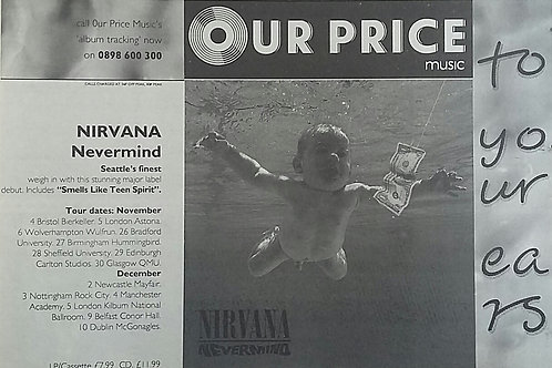 Nirvana - Never Mind