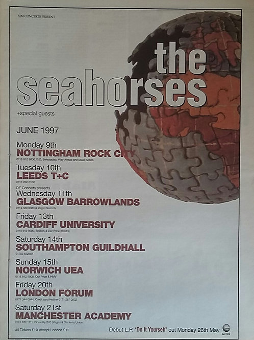 The Seahorses - Tour June 97