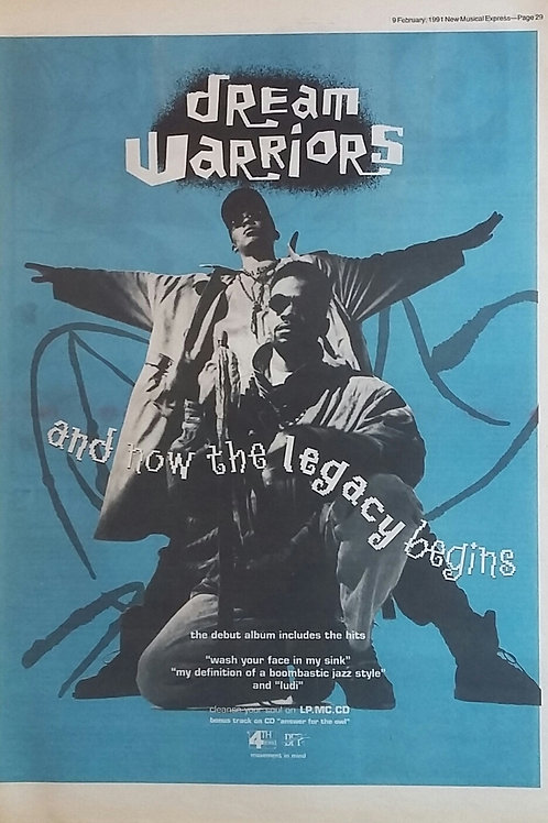 Dream Warriors - And Now The Lagacy Begins