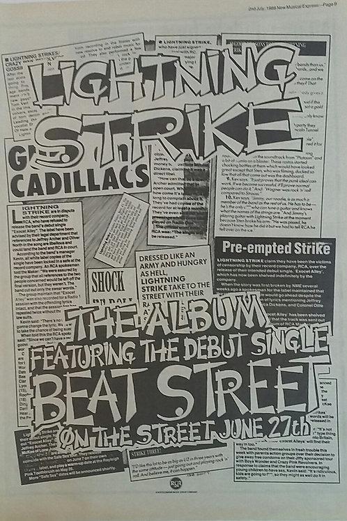 Lightning Strike - Beat Street