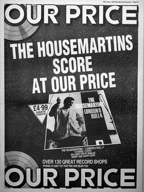 The Housemartins - Our Price
