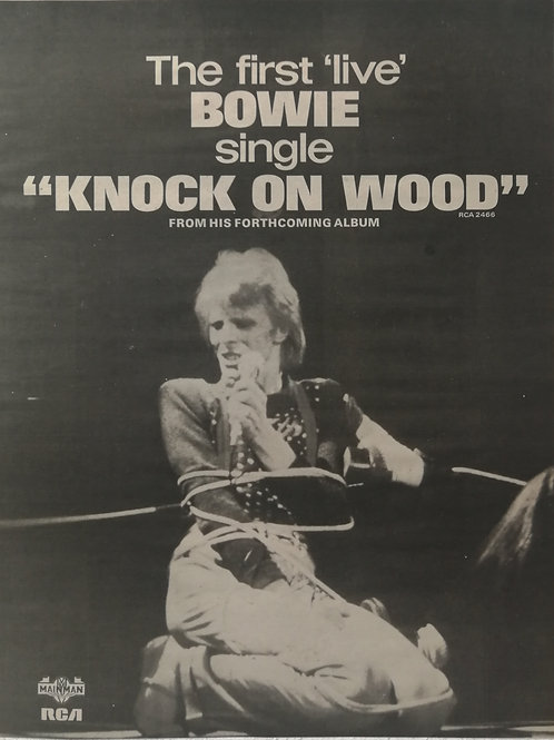 David Bowie - Knock On Wood