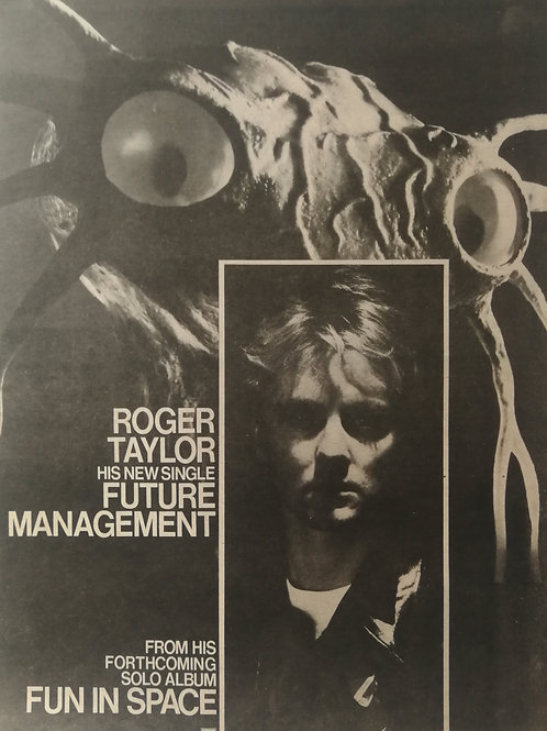 Roger Taylor - Fun In Space