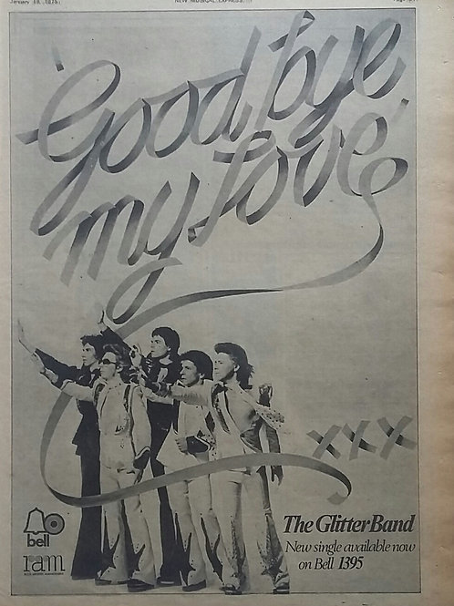 The Glitter Band ‎– Goodbye My Love