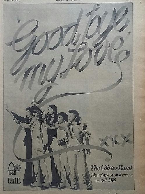 The Glitter Band – Goodbye My Love