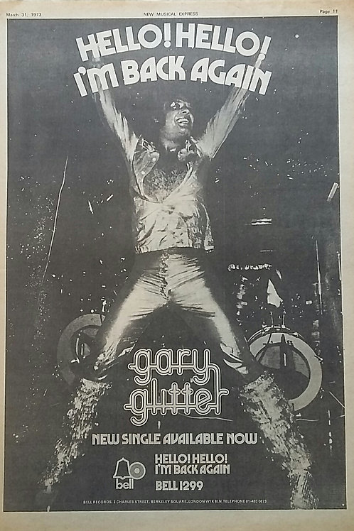 Gary Glitter – Hello ! Hello ! I'm Back Again