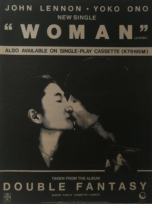 John Lennon / Yoko Ono - Woman