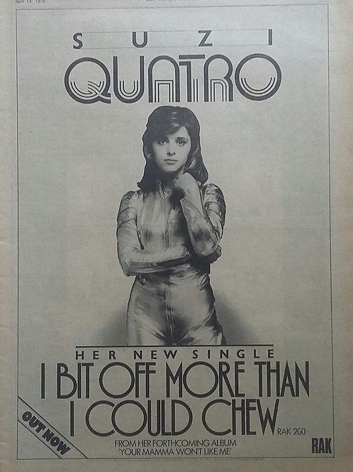 Suzi Quatro – I Bit Off More Than I Could Chew