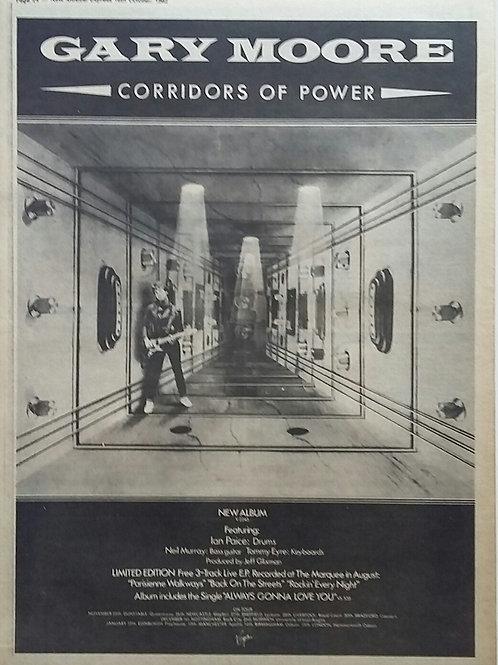 Gary Moore - Corridors Of Power