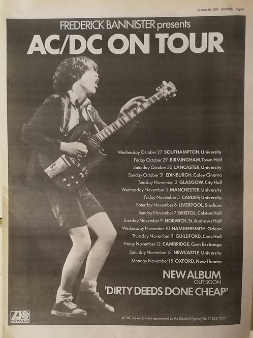 AC/DC - On Tour