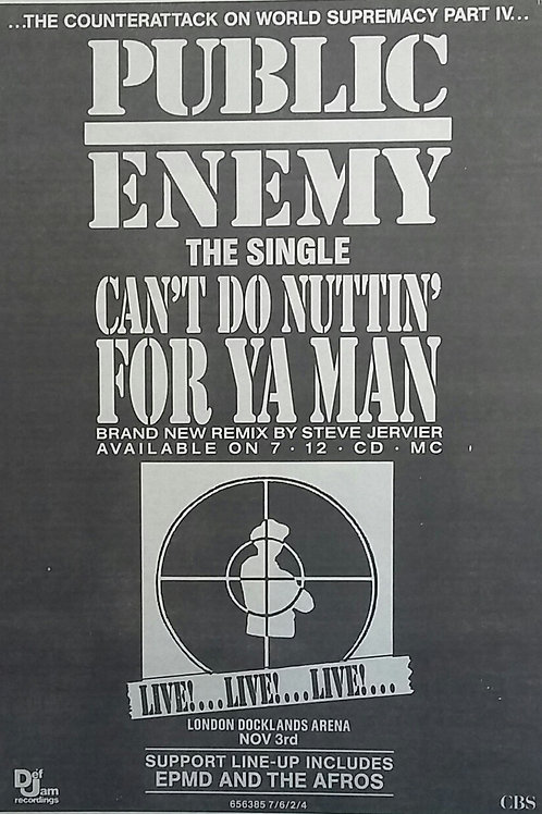Public Enemy - Can't Do Nuttin'