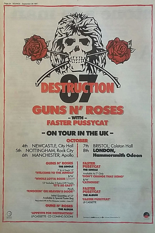 Guns N' Roses - On Tour In The UK