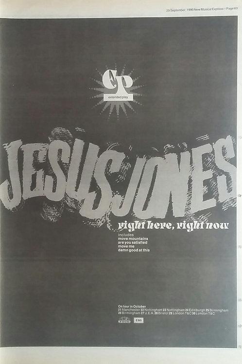 Jesus Jones -Right Here, Right Now