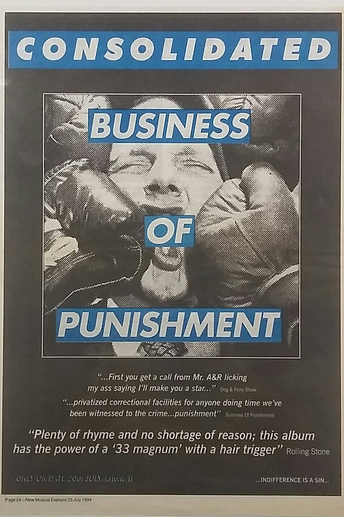 Consolidated – Business Of Punishment