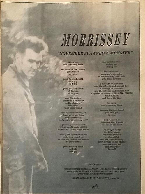 Morrissey - November Spawned A Monster