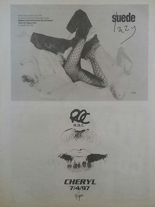Suede / R.o.c. - Lazy / Cheryl