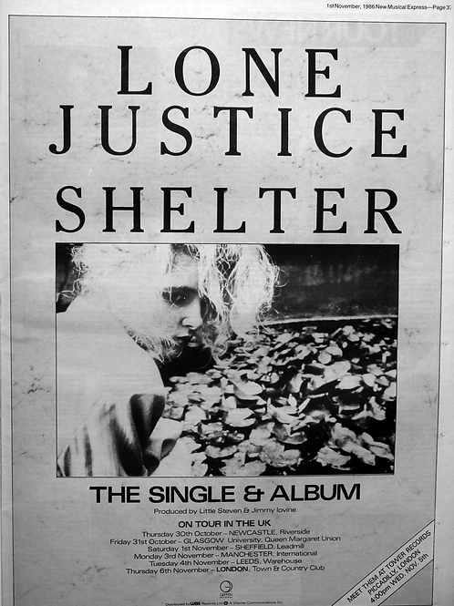 Lone Justice – Shelter