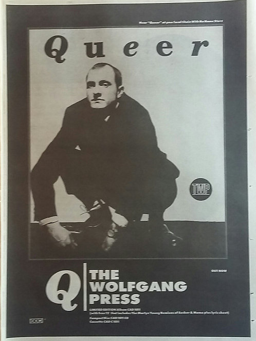 Queer - The Wolfgang Press