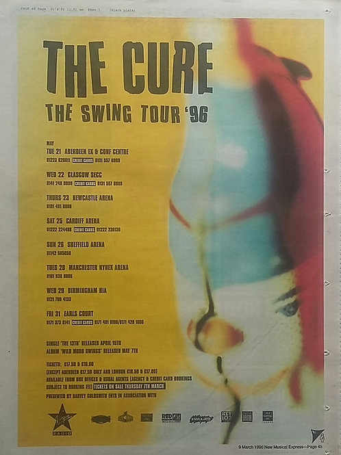 Cure - The Swing Tour