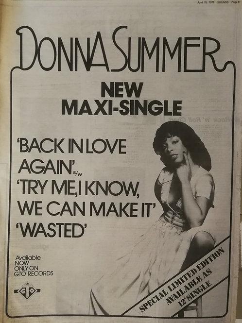 Donna Summer - Back In Love Again