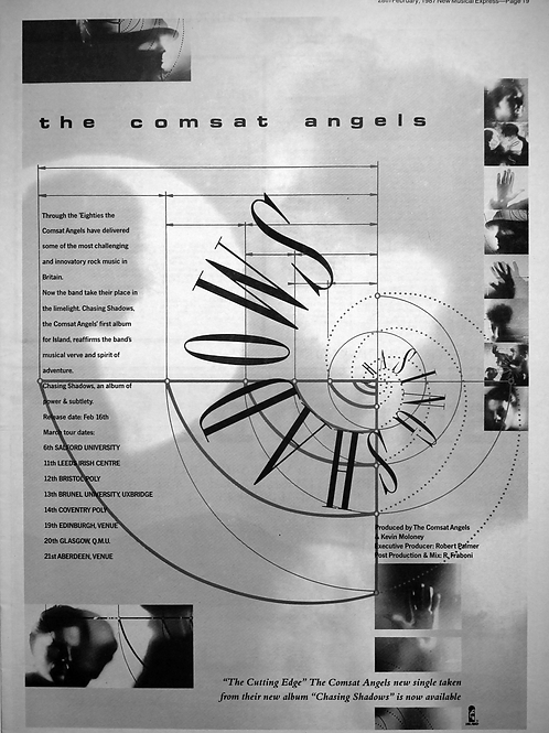 The Comsat Angels - The Cutting Edge