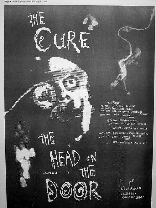 Cure – The Head On The Door