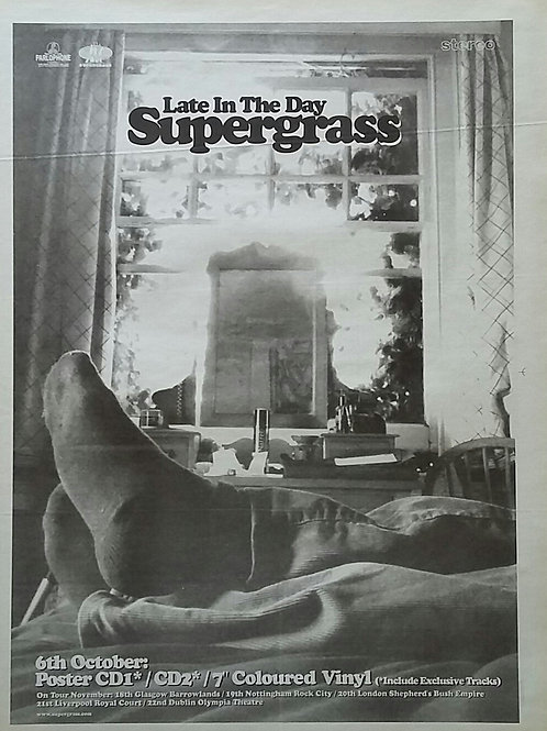 Supergrass – Late In The Day