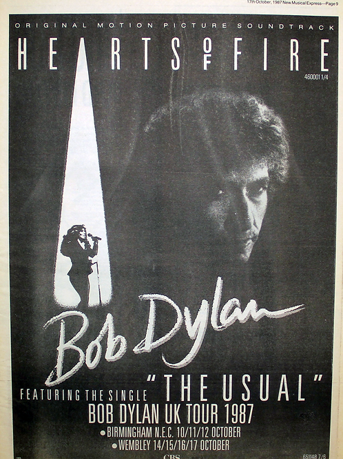 Bob Dylan - Hearts Of Fire