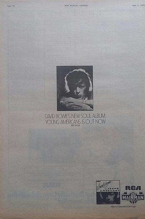 David Bowie - Young American Album