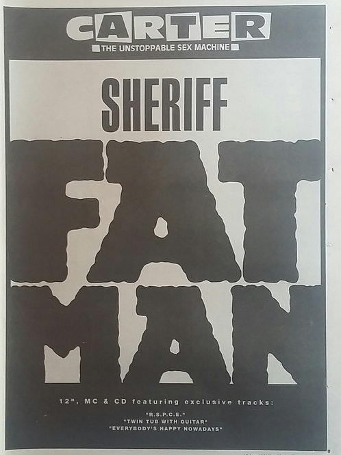 Carter The Unstoppable Sex Machine -  Sheriff Fatman
