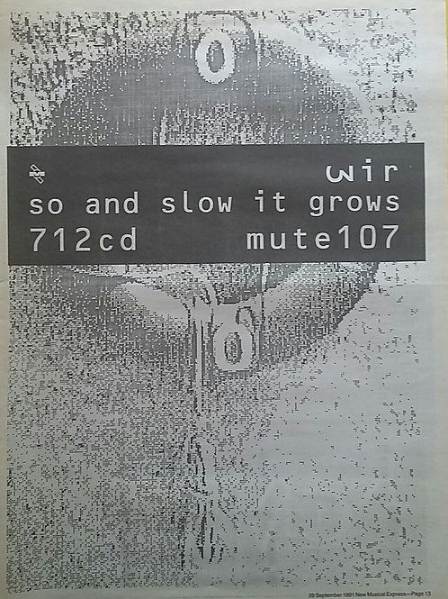 Wire - So And Slow It Grows