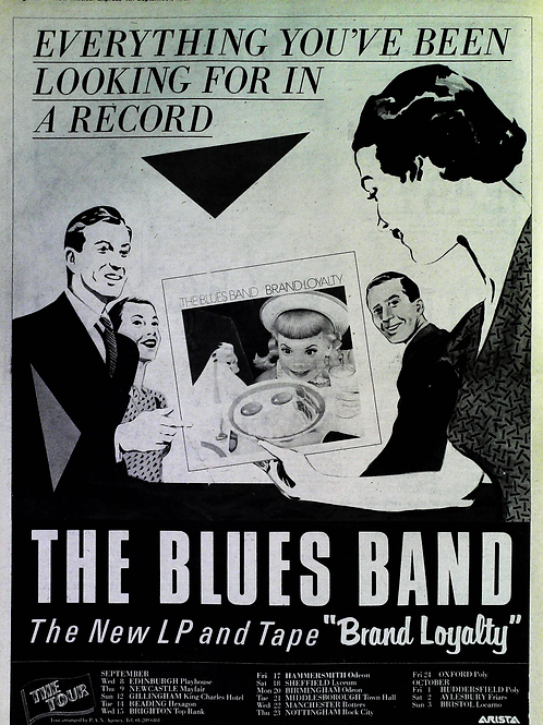 The Blues Band – Brand Loyalty