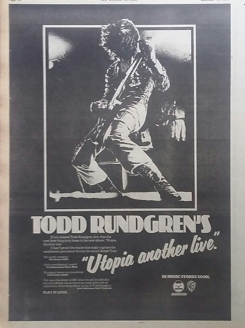 Todd Rundgren's - Utopia Another Live