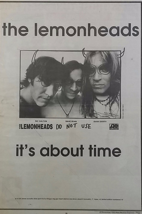 The Lemonheads - It's About Time
