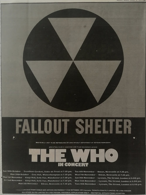 The Who - Fallout Shelter